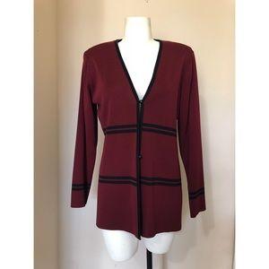 Misook Textured Jacket Blazer